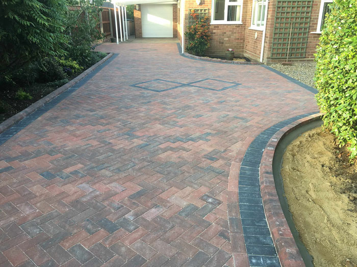 Blocked Paved Driveway in Manchester & Cheshire
