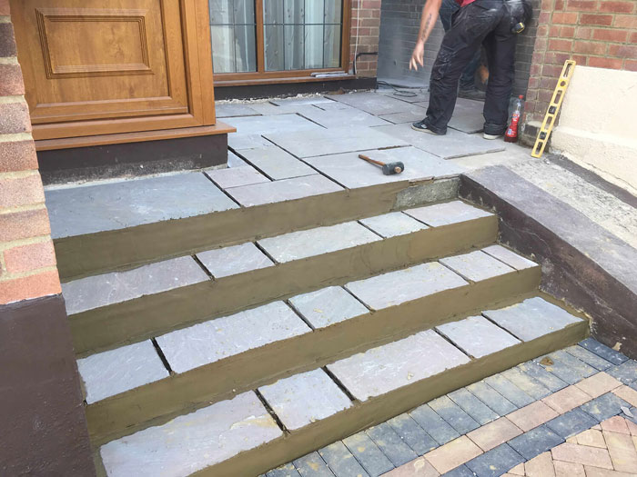 Blocked Paved Steps in Manchester & Cheshire